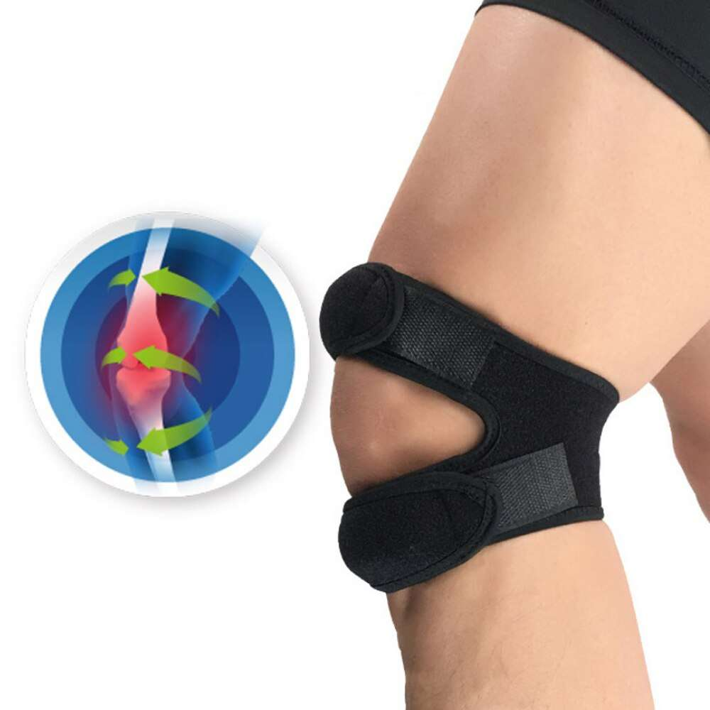 Knee Pads Fitness Running Cycling Knee Support Braces Elastic Sport Compression Sleeve Basketball Volleyball soccer adjustable 1