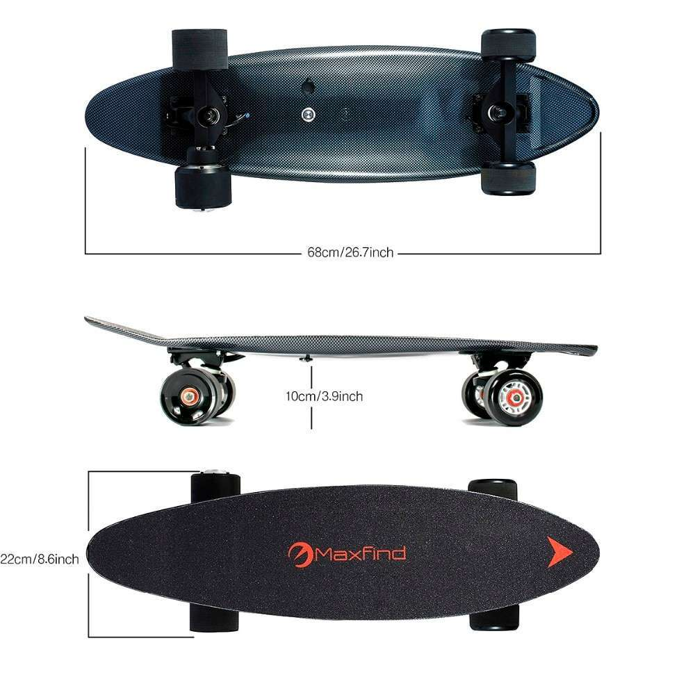 Maxfind 3 7 kg most portable hub motor remote electric skateboard with Samsung battery inside mini 2