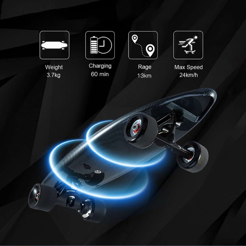 Maxfind 3 7 kg most portable hub motor remote electric skateboard with Samsung battery inside mini 4