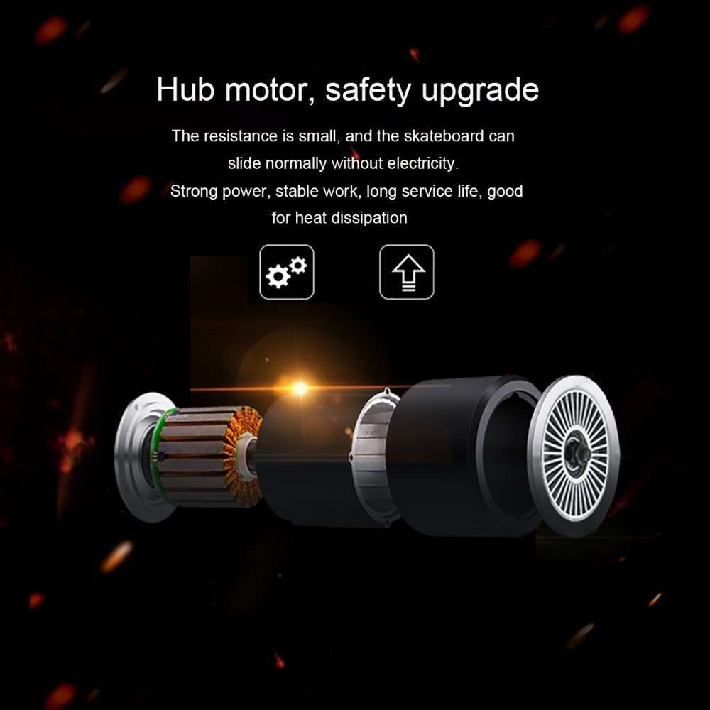 Maxfind 3 7 kg most portable hub motor remote electric skateboard with Samsung battery inside mini 5