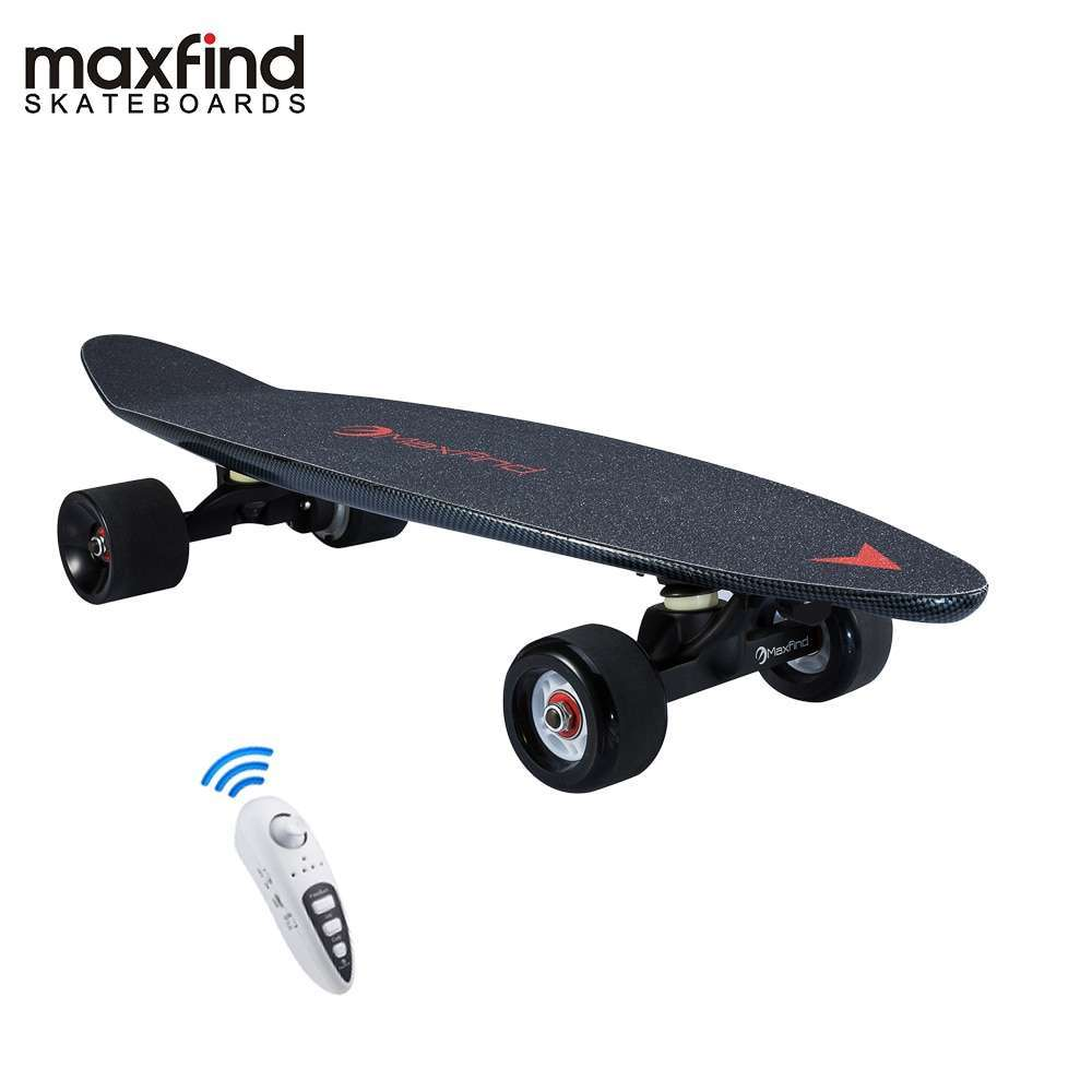 Maxfind 3 7 kg most portable hub motor remote electric skateboard with Samsung battery inside mini
