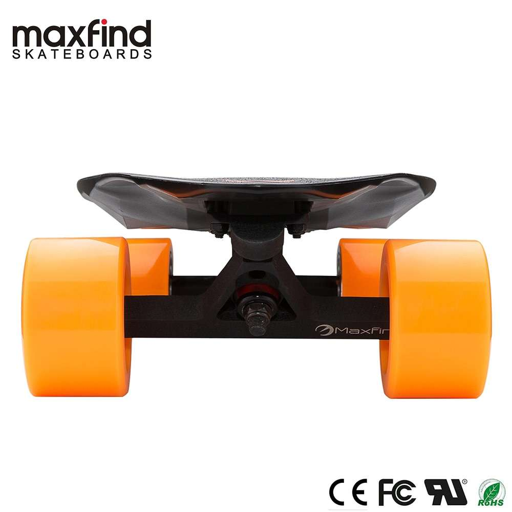 Maxfind Electric Skateboard Forth Generation MAX 2 Single Motor 1000W with COOL Remote Controller Top Speed 4