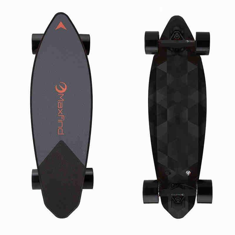 Maxfind Electric Skateboard Forth Generation MAX 2 Single Motor 1000W with COOL Remote Controller Top Speed 5