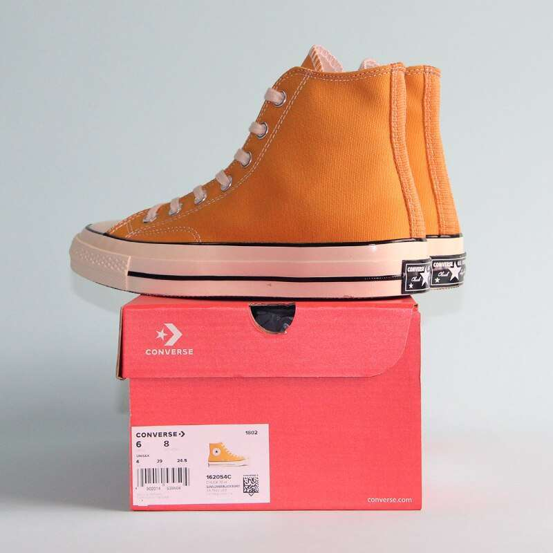 NEW Converse CHUCK 70 Retro version 1970S Original all star shoes unisex sneakers yellow Skateboarding Shoes 4