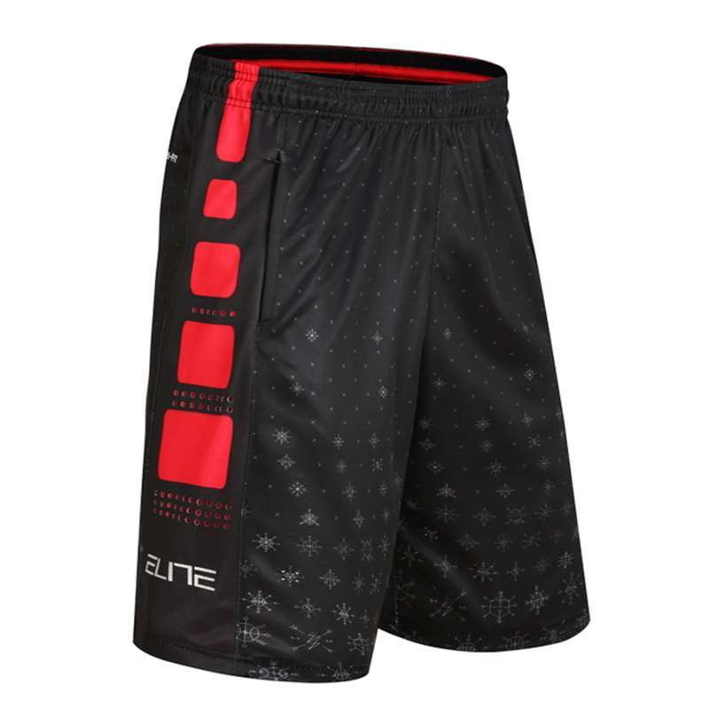 New Men s Basketball Training Competition Shorts Large Size Loose Sports Leisure Quick Dry Breathable Basketball 2