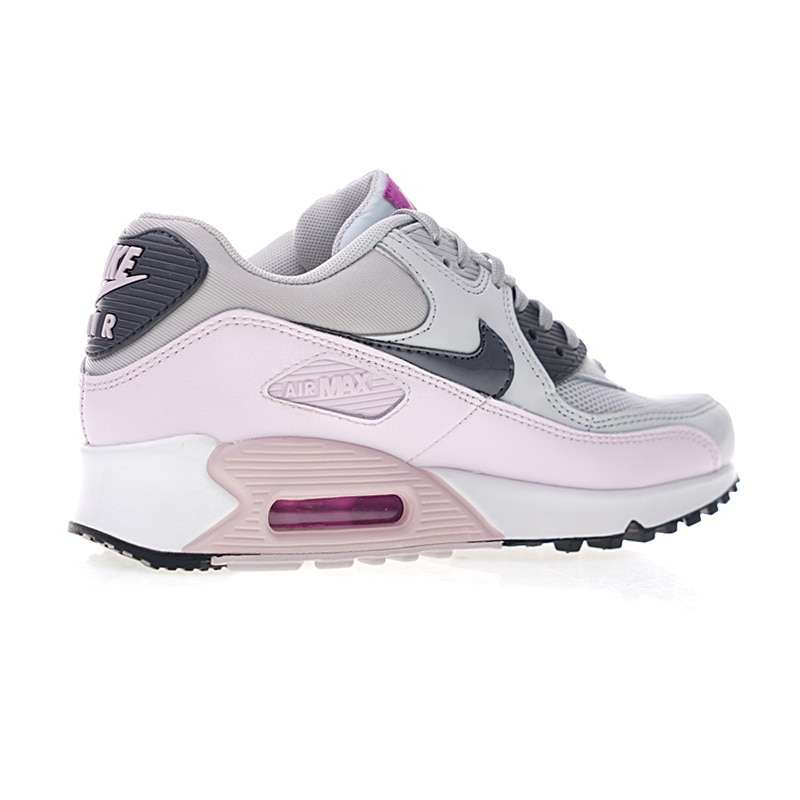 Original Authentic Nike Air Max 90 Women s Running Shoes Sports Outdoor Sneakers Shock Absorbing Lightweight 2