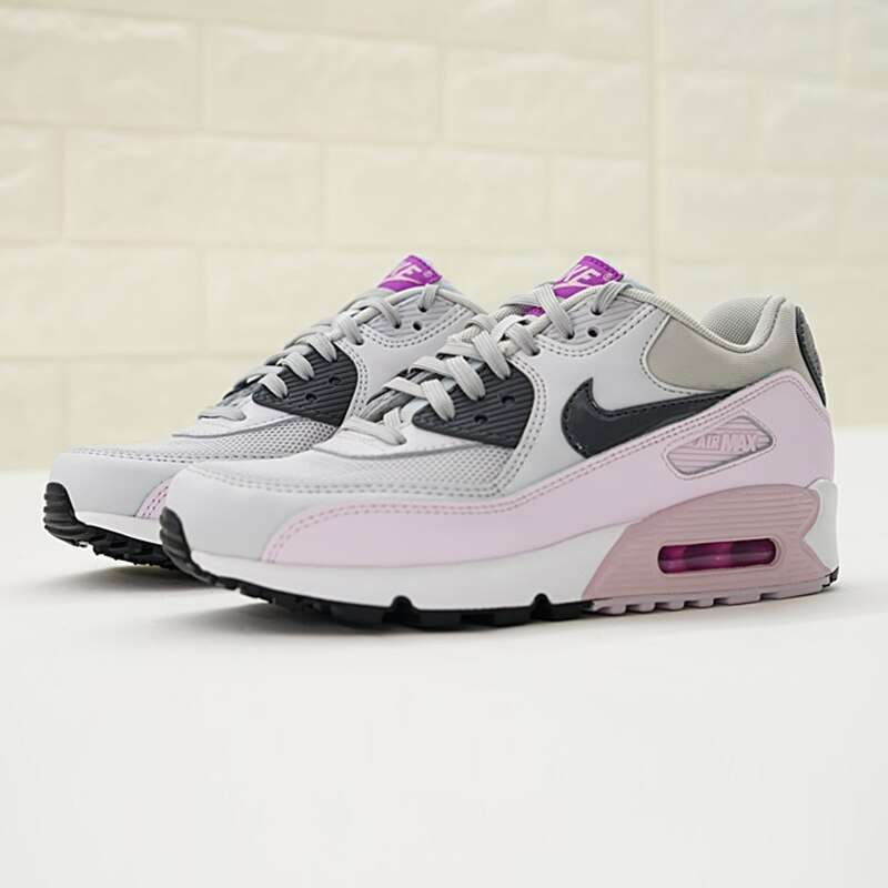 Original Authentic Nike Air Max 90 Women s Running Shoes Sports Outdoor Sneakers Shock Absorbing Lightweight 3