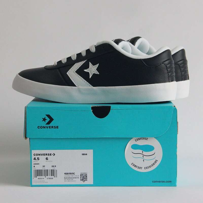 Original Converse CONS Series of shoes Winter style keep warm new leather unisex sneakers Skateboarding Shoes 3