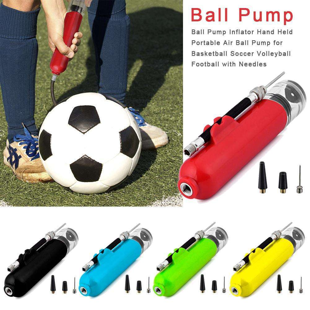 Portable Ball Pump Inflator Mini Hand Held Portable Air Ball Toy Pump For Basketball Soccer Volleyball