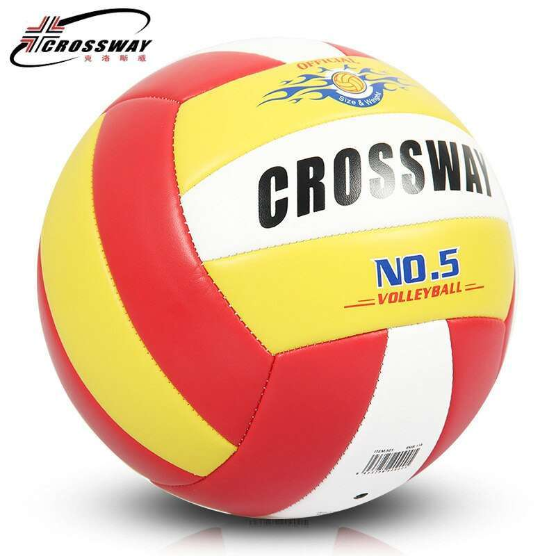 Wholesale or retail CROSSWAY Official GAME BALL Size 5 PVC Volleyball Soft Touch V503 Training Volleyball 1