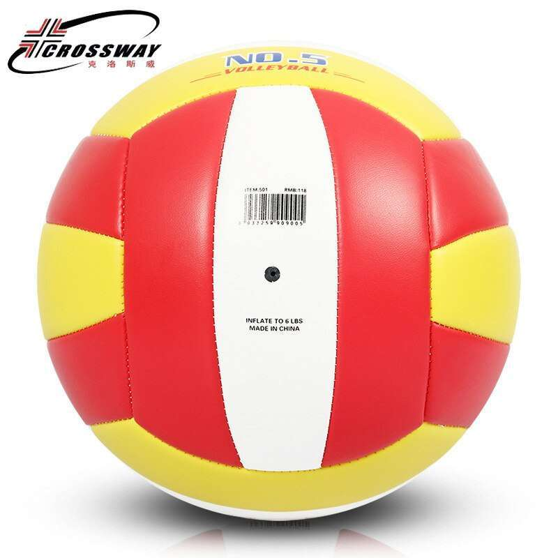 Wholesale or retail CROSSWAY Official GAME BALL Size 5 PVC Volleyball Soft Touch V503 Training Volleyball 3