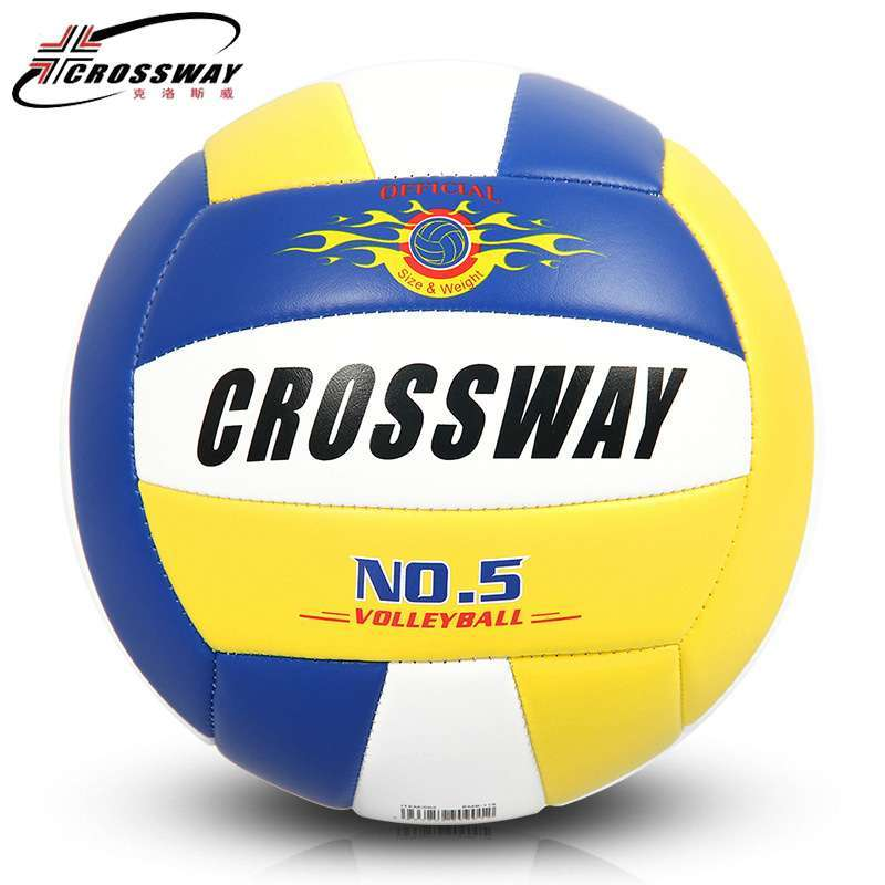 Wholesale or retail CROSSWAY Official GAME BALL Size 5 PVC Volleyball Soft Touch V503 Training Volleyball 4