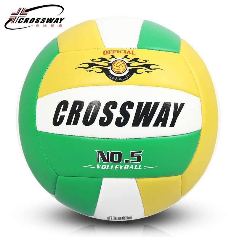 Wholesale or retail CROSSWAY Official GAME BALL Size 5 PVC Volleyball Soft Touch V503 Training Volleyball 5