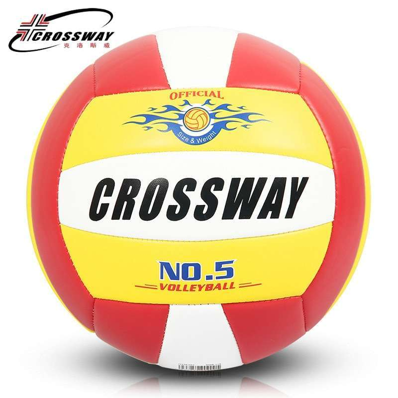 Wholesale or retail CROSSWAY Official GAME BALL Size 5 PVC Volleyball Soft Touch V503 Training Volleyball