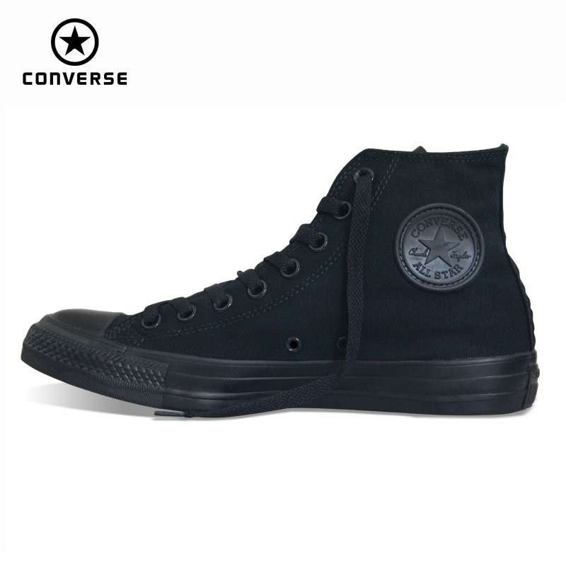 classic Original Converse all star canvas shoes 2 color high classic Skateboarding men and women s 1