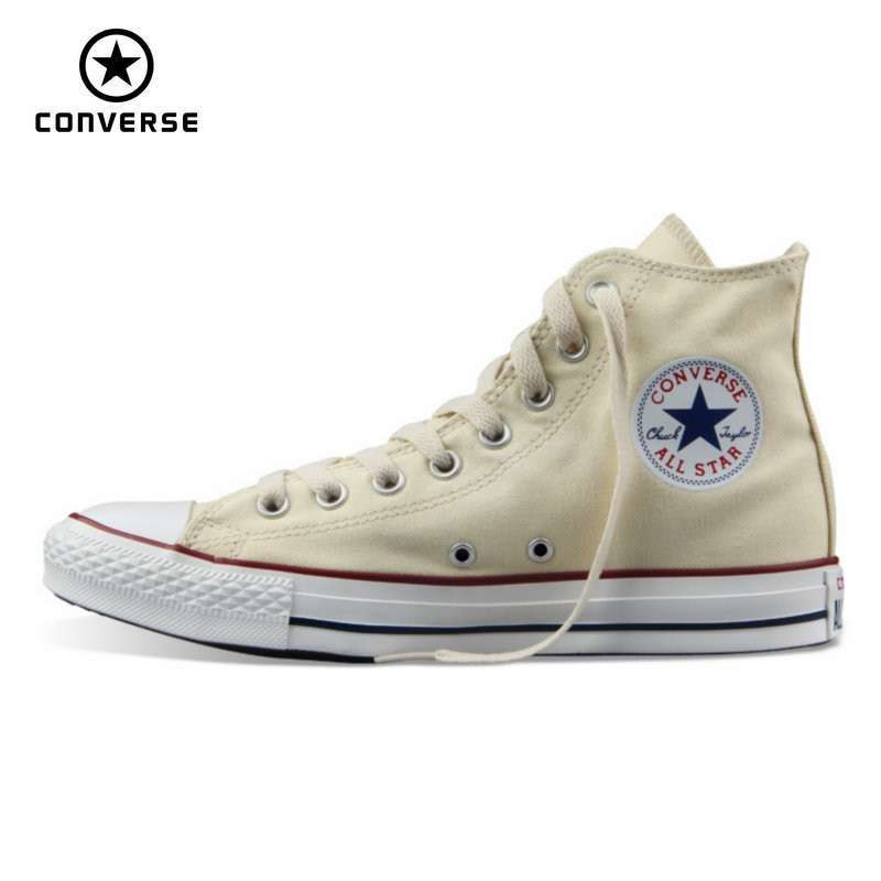 classic Original Converse all star canvas shoes 2 color high classic Skateboarding men and women s 4