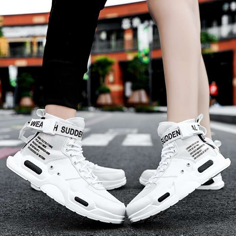 spring high top unisex Sneakers hot sale mens shoes casual for adults tenis masculino Breathable mesh 1