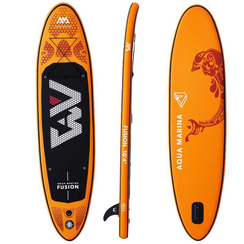 1 315 75 15cm inflatable surfboard FUSION 2019 stand up paddle surfing board AQUA MARINA water sport