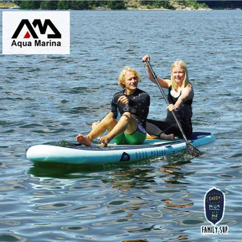 1 370 87 15CM AQUA MARINA SUPER TRIP inflatable sup stand up paddle board inflatable surf board 2