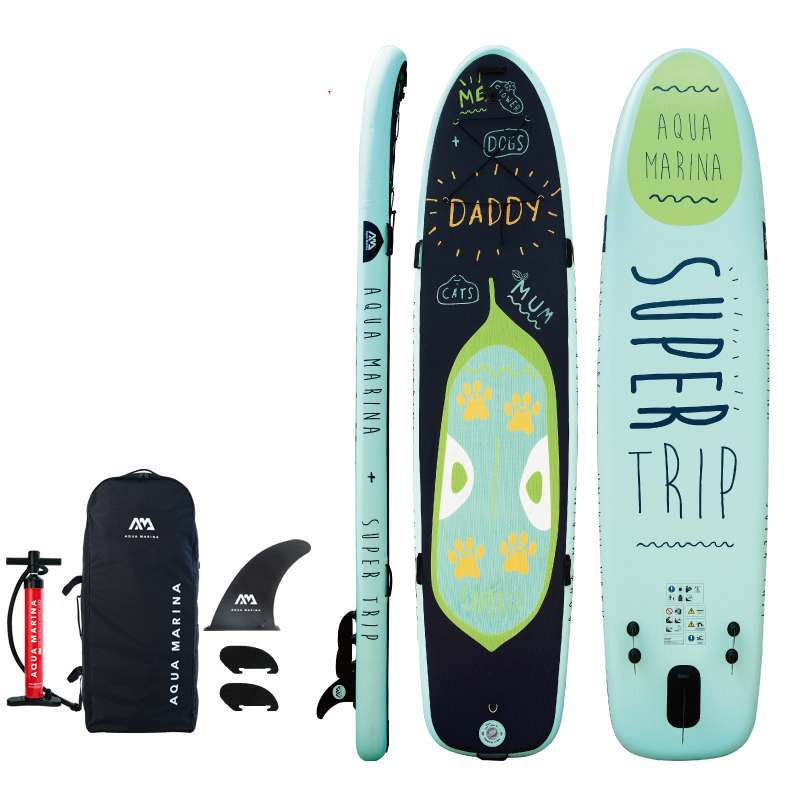 4 370 87 15CM AQUA MARINA SUPER TRIP inflatable sup stand up paddle board inflatable surf board 2