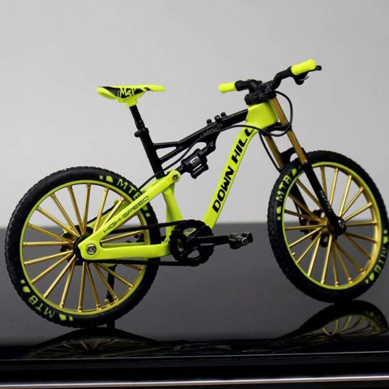 1 10 Metal Alloy Diecast Bicycle Bike Model Toy Racing Cycle Cross Mountain Bike Replica Collection 2