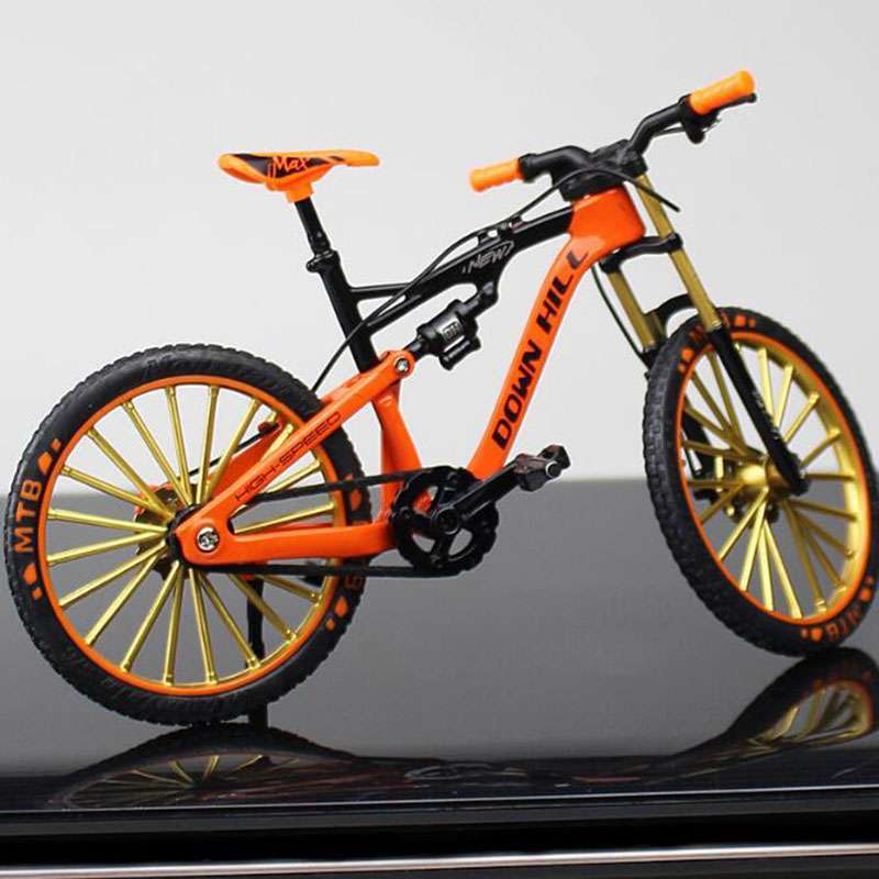 1 10 Metal Alloy Diecast Bicycle Bike Model Toy Racing Cycle Cross Mountain Bike Replica Collection 3