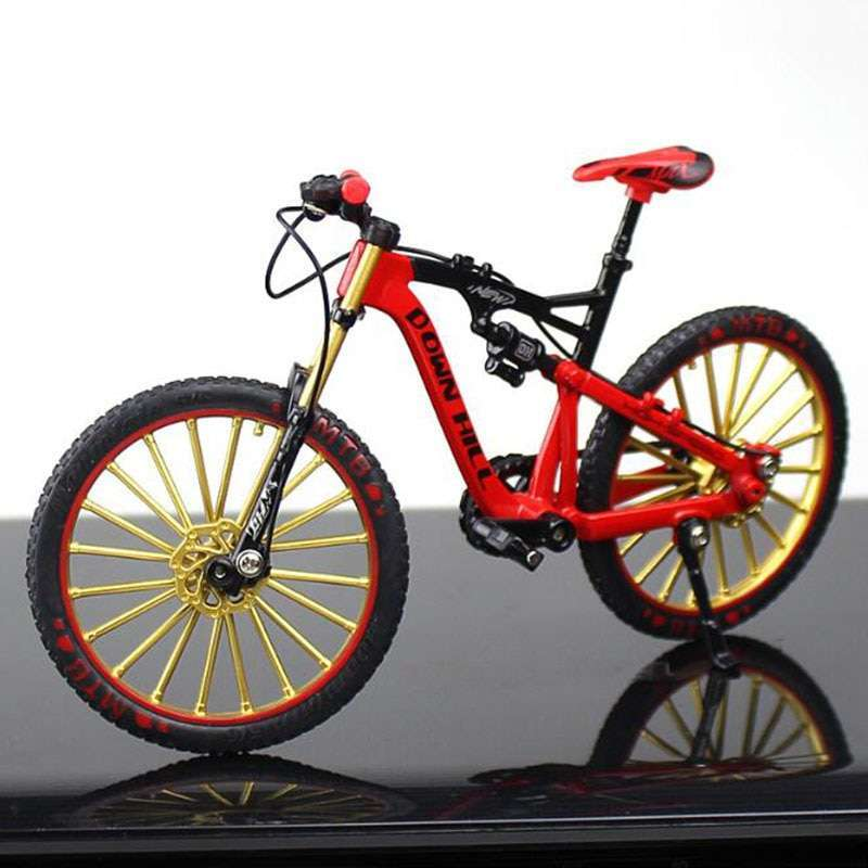 1 10 Metal Alloy Diecast Bicycle Bike Model Toy Racing Cycle Cross Mountain Bike Replica Collection
