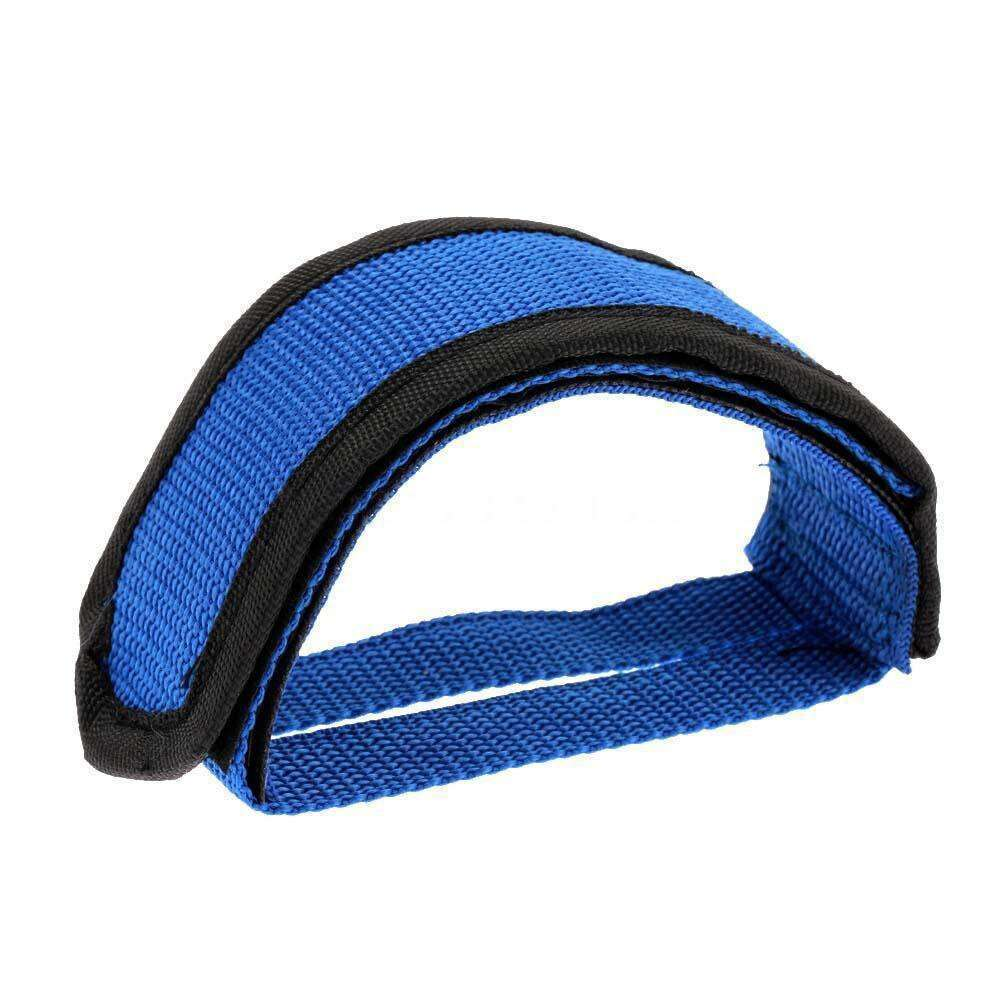 1PC Fixie BMX Fixed Gear Bike Bicycle Adhesive Straps Pedal Toe Clip Strap Belt Cn Suitable 2