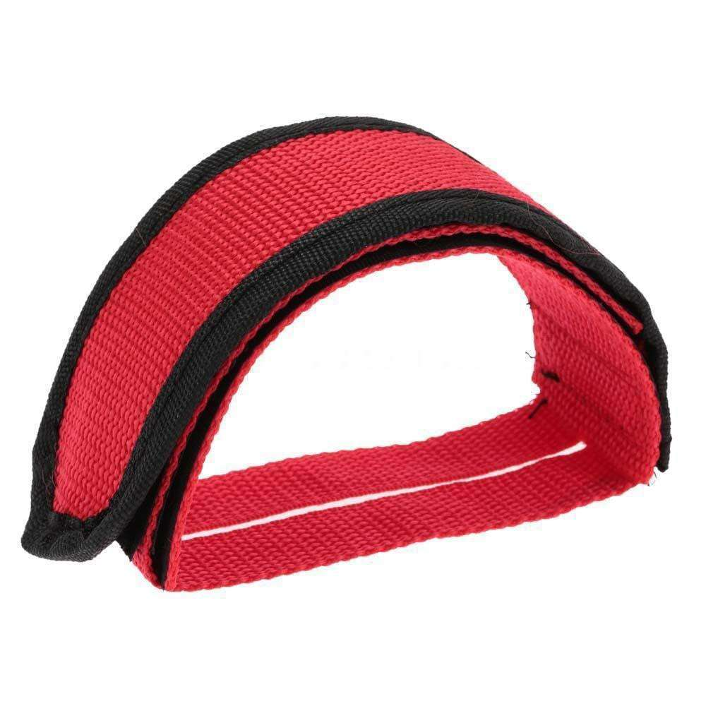 1PC Fixie BMX Fixed Gear Bike Bicycle Adhesive Straps Pedal Toe Clip Strap Belt Cn Suitable 3