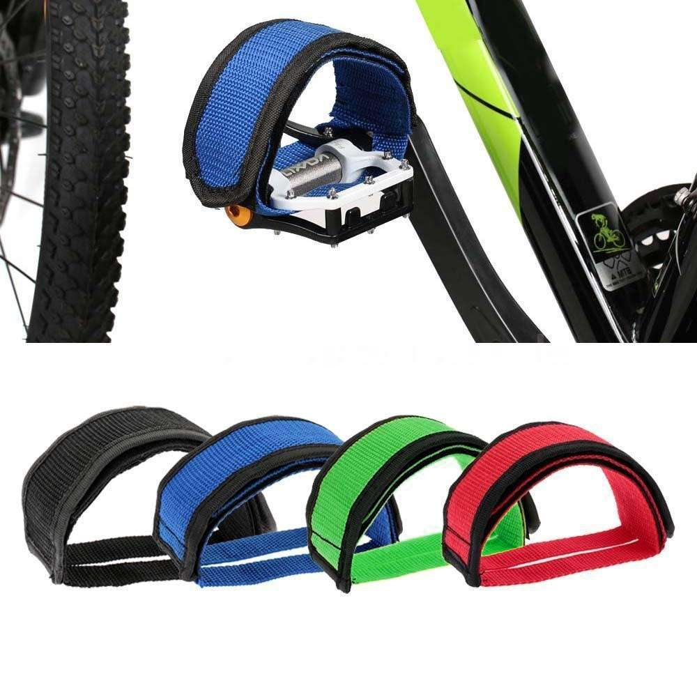 1PC Fixie BMX Fixed Gear Bike Bicycle Adhesive Straps Pedal Toe Clip Strap Belt Cn Suitable