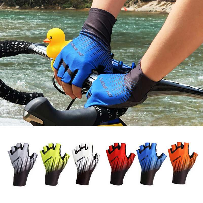 1Pair Half Full Finger Cycling Gloves With 1Pair Cycling Socks Men Women Sports Bike Gloves Racing 2