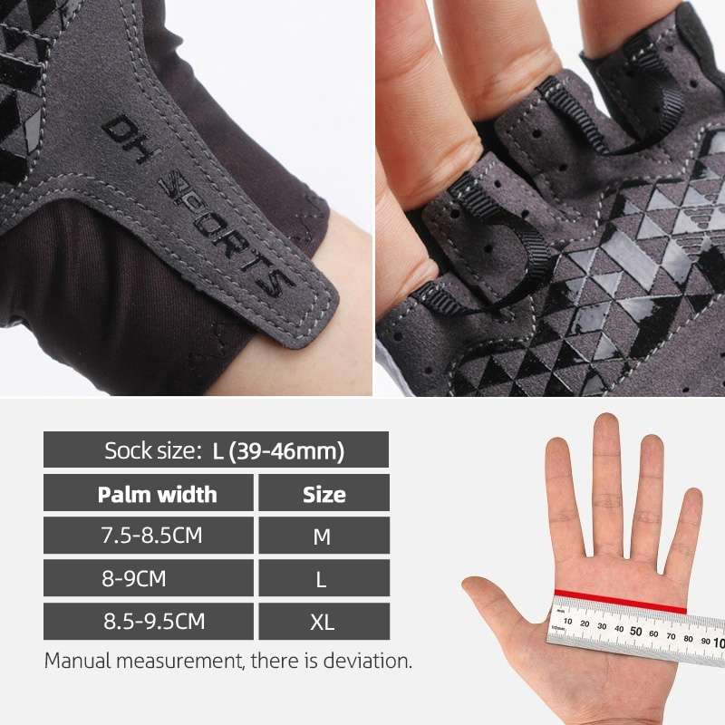 1Pair Half Full Finger Cycling Gloves With 1Pair Cycling Socks Men Women Sports Bike Gloves Racing 5