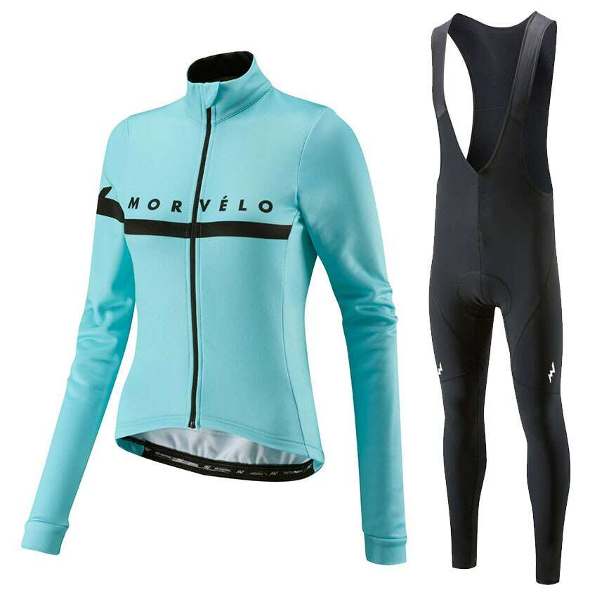 2019 Autumn Long Sleeve women cycling sets Female Bike Clothes Sports Wear winter cycling clothing maillot