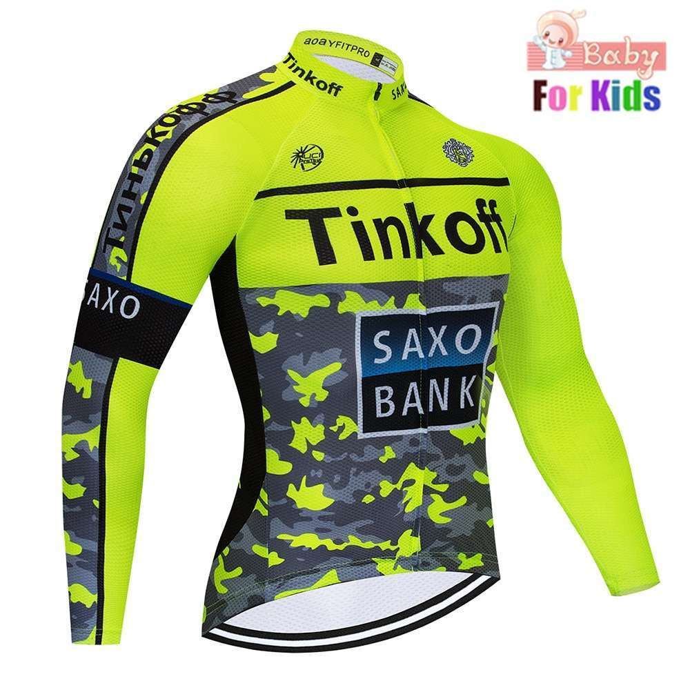 2020 Children Breathable long Cycling Jersey Clothing kids Quick Dry Long Sleeve Ropa Ciclismo Bicycle Clothes 1