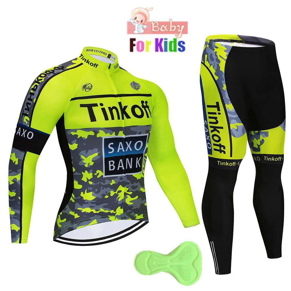 2020 Children Breathable long Cycling Jersey Clothing kids Quick Dry Long Sleeve Ropa Ciclismo Bicycle Clothes