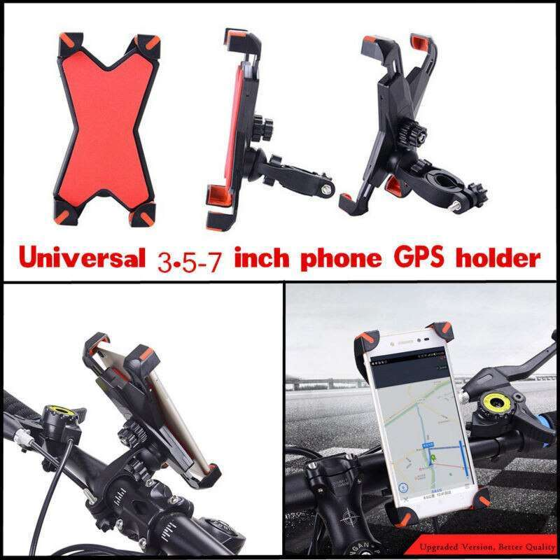 360 Universal Bike Bicycle Cycling Mount Holder Bracket For 3 5 7 Cell Phone GPS Adjustable 4