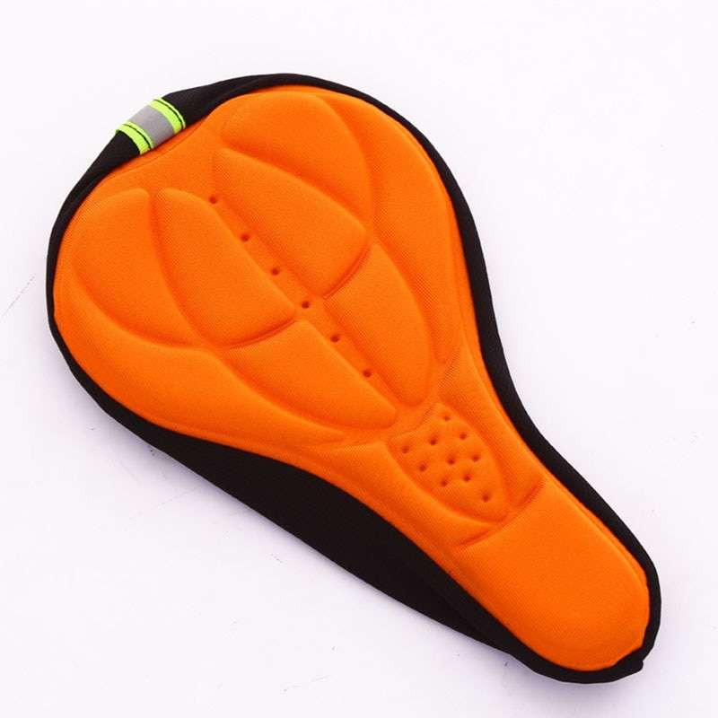 3D Bike Seat Cover Bicycle Soft Saddle Comfortable Foam Seat Cushion Cycling Saddle for Bicycle Bike 3