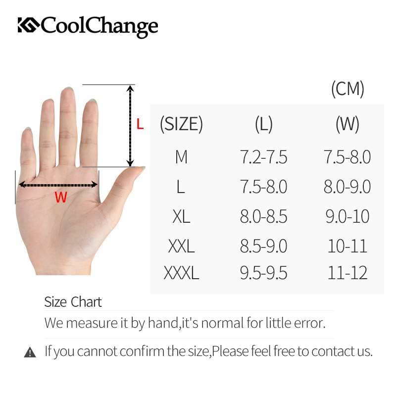 CoolChange Bicycle Gloves Winter Thermal Waterproof Bike Gloves Long Finger Touch Screen Wrist Buckle Cycling Gloves 5