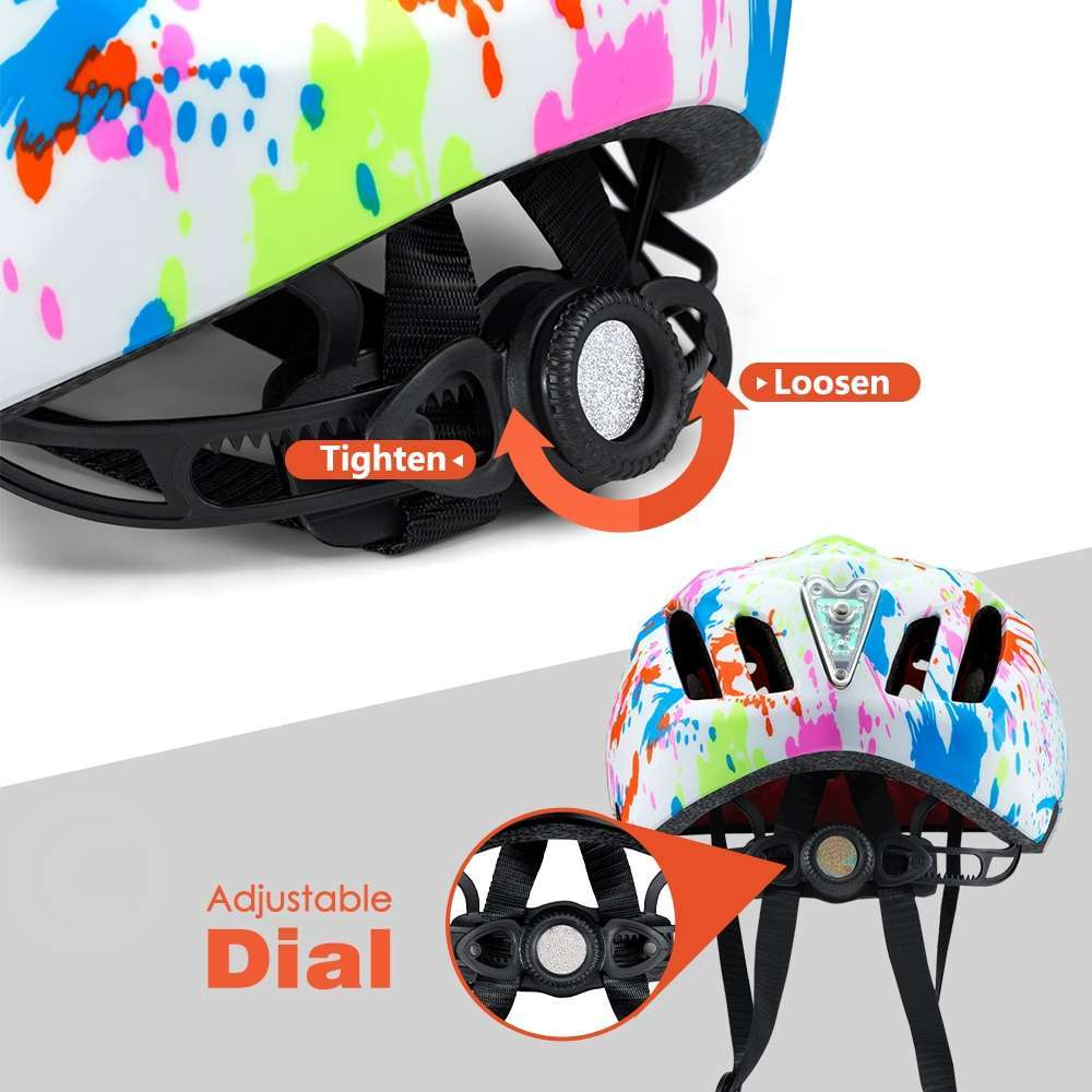 Ftiier Kid LED Mountain Mtb Road Bicycle Helmet Detachable Pro Protection Children Full Face Bike Cycling 3