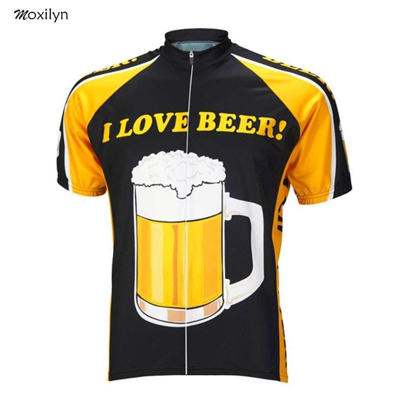 Moxilyn Mens Cycling Jerseys Top Skinsuit Cycling Clothing Mountain Bike MTB Breathable Sweat absorbing Quick drying 2