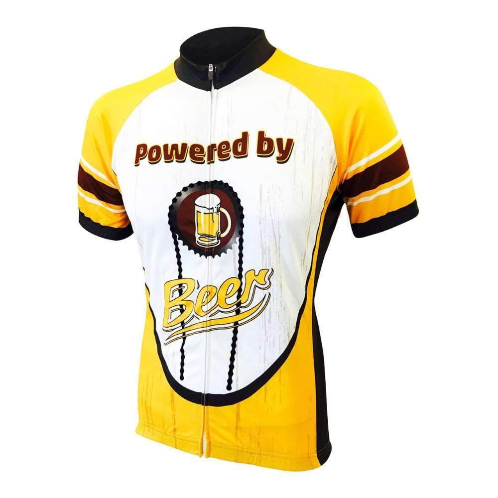 Moxilyn Mens Cycling Jerseys Top Skinsuit Cycling Clothing Mountain Bike MTB Breathable Sweat absorbing Quick drying 3