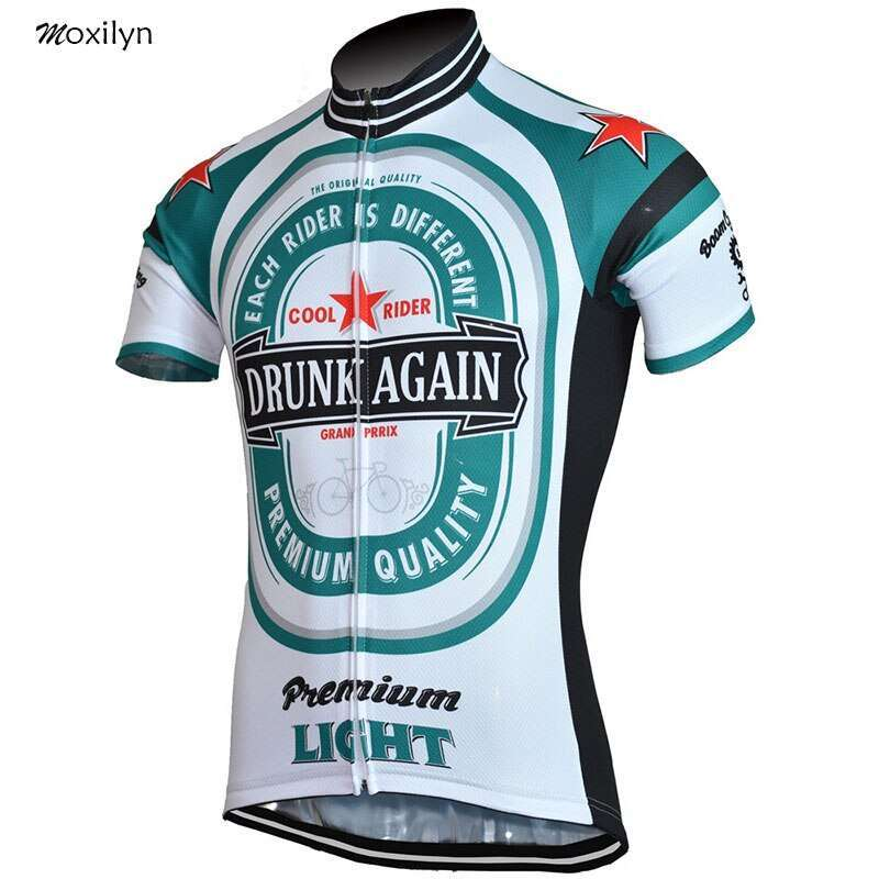 Moxilyn Mens Cycling Jerseys Top Skinsuit Cycling Clothing Mountain Bike MTB Breathable Sweat absorbing Quick drying 4