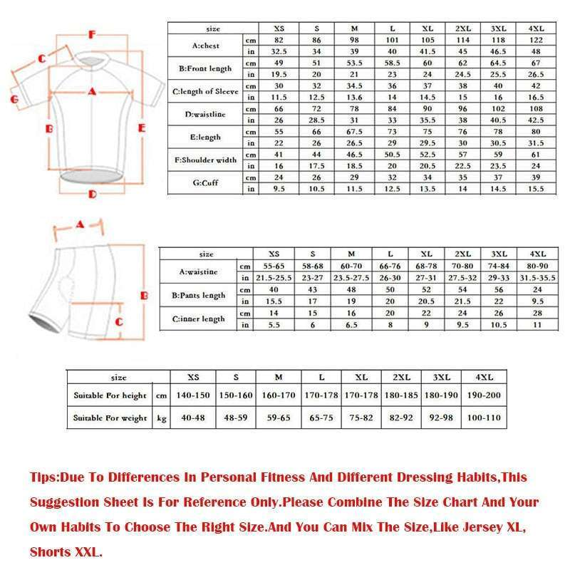 Moxilyn Mens Cycling Jerseys Top Skinsuit Cycling Clothing Mountain Bike MTB Breathable Sweat absorbing Quick drying 5