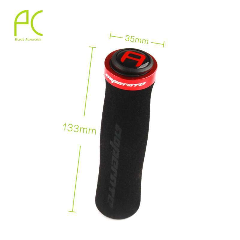 PCycling Arc Cycling Ergonomic Lockable Handle Grips For Bicycle MTB Road Folding Bike Soft Comfortable NonSlip 8