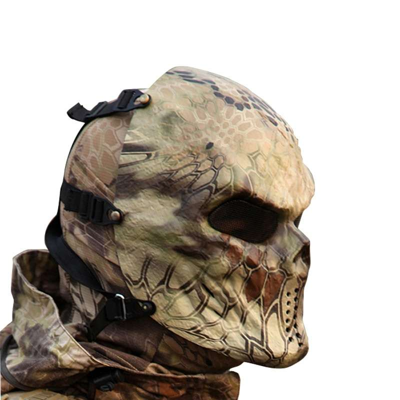 Typhoon Camouflage Hunting Accessories Masks Ghost Tactical Outdoor Military CS Wargame Paintball Airsoft Skull Full Face 1