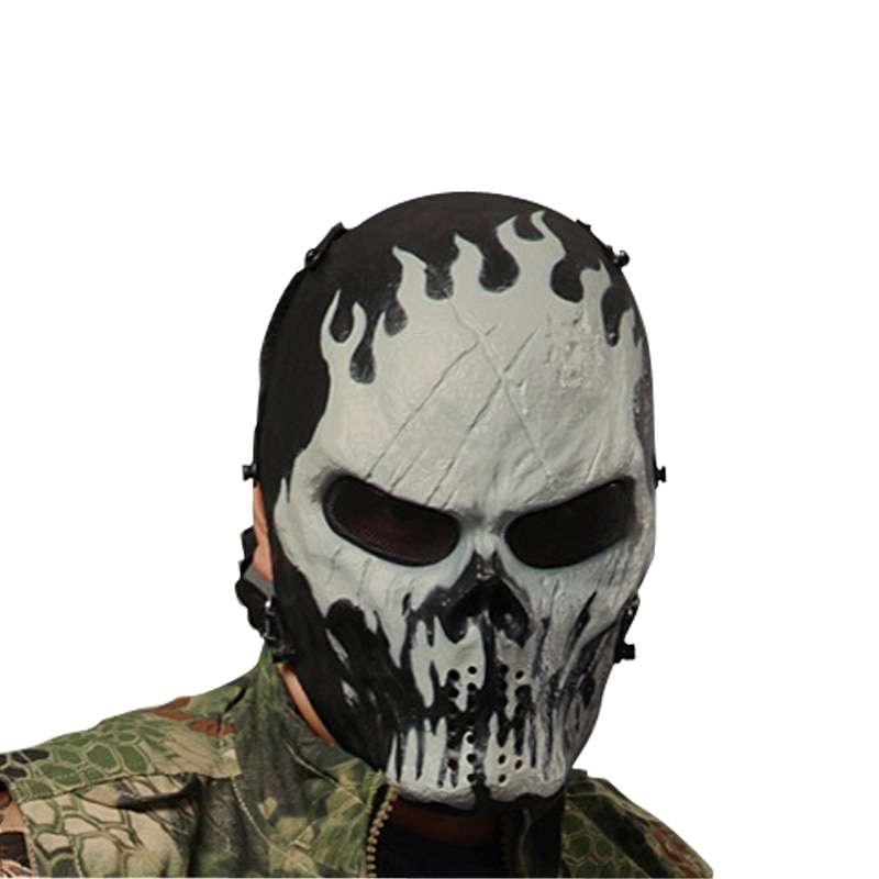 Typhoon Camouflage Hunting Accessories Masks Ghost Tactical Outdoor Military CS Wargame Paintball Airsoft Skull Full Face 2