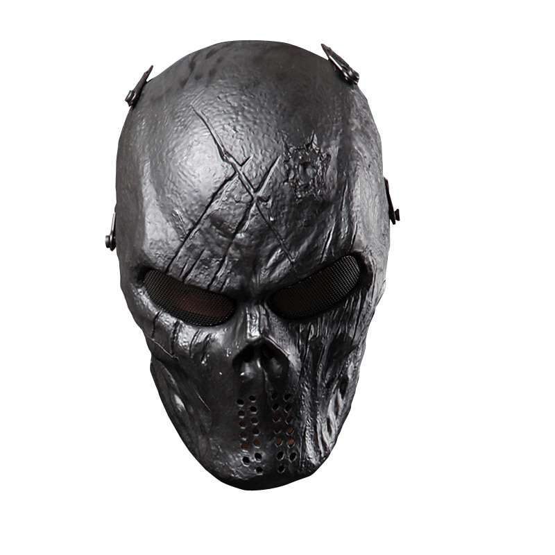 Typhoon Camouflage Hunting Accessories Masks Ghost Tactical Outdoor Military CS Wargame Paintball Airsoft Skull Full Face 5