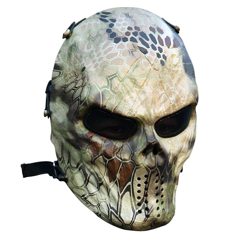 Typhoon Camouflage Hunting Accessories Masks Ghost Tactical Outdoor Military CS Wargame Paintball Airsoft Skull Full Face