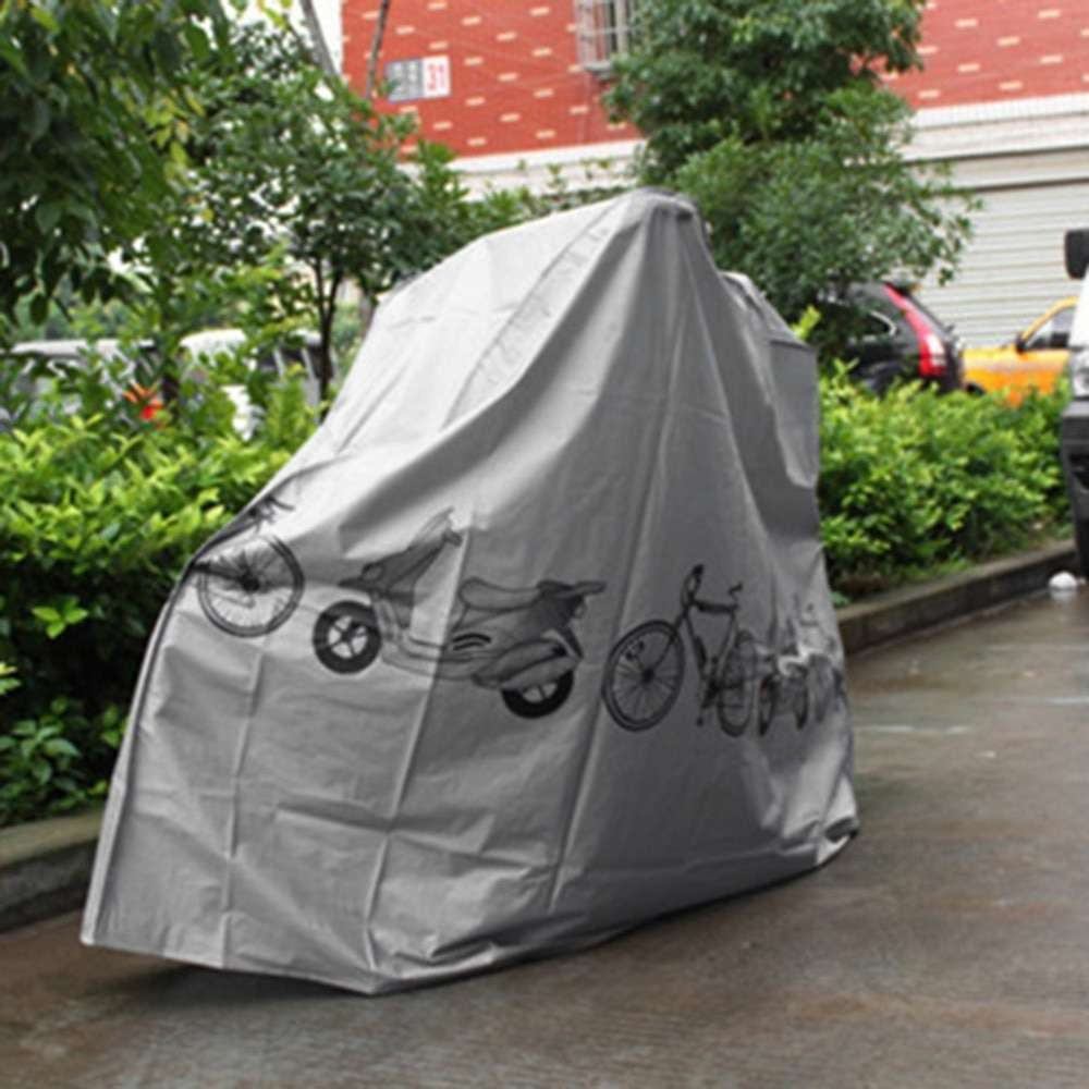 Universal Bicycle Rain Dust Proof Cover Waterproof UV Protector Cover Bike Accessories For Bike Electric Motorcycle 3
