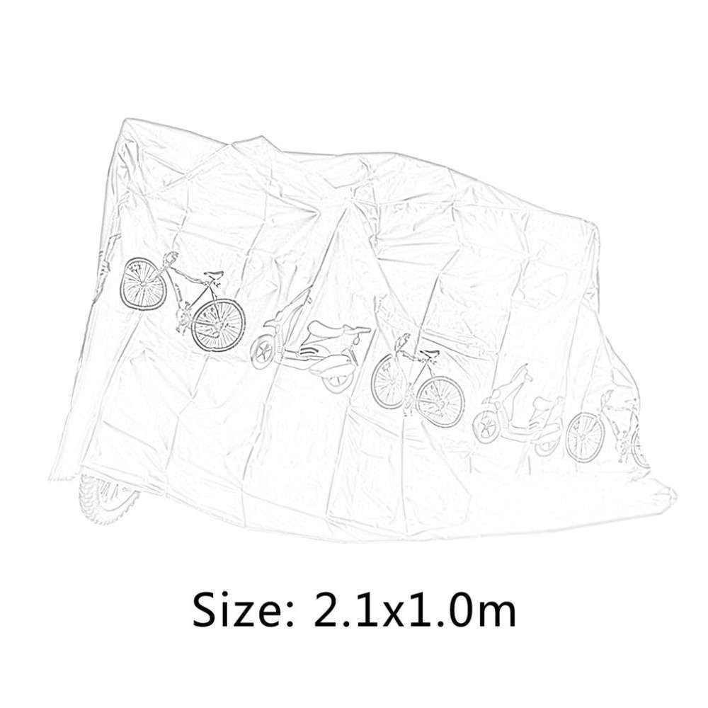 Universal Bicycle Rain Dust Proof Cover Waterproof UV Protector Cover Bike Accessories For Bike Electric Motorcycle 5